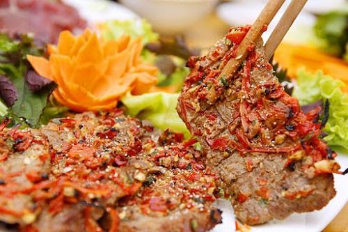 Hướng dẫn cách làm món thịt trâu nướng sa tế thơm ngon, giàu dinh dưỡng